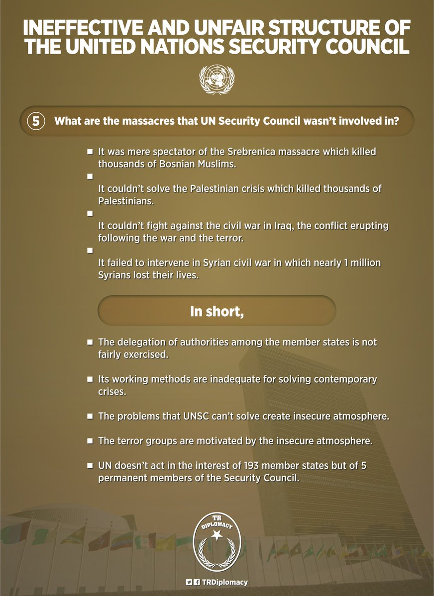 Ineffective and unfair structure of the United Nations Security Council in 5 questions
