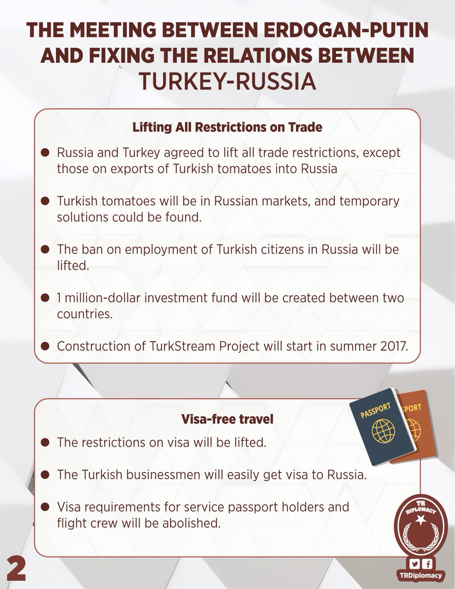 The talks between Erdogan-Putin and the improving Turkey-Russia relations