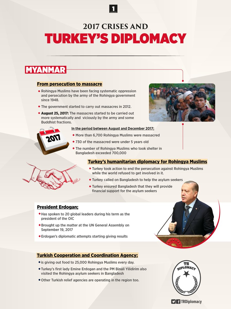 Turkey's diplomacy to solve global crises in 2017