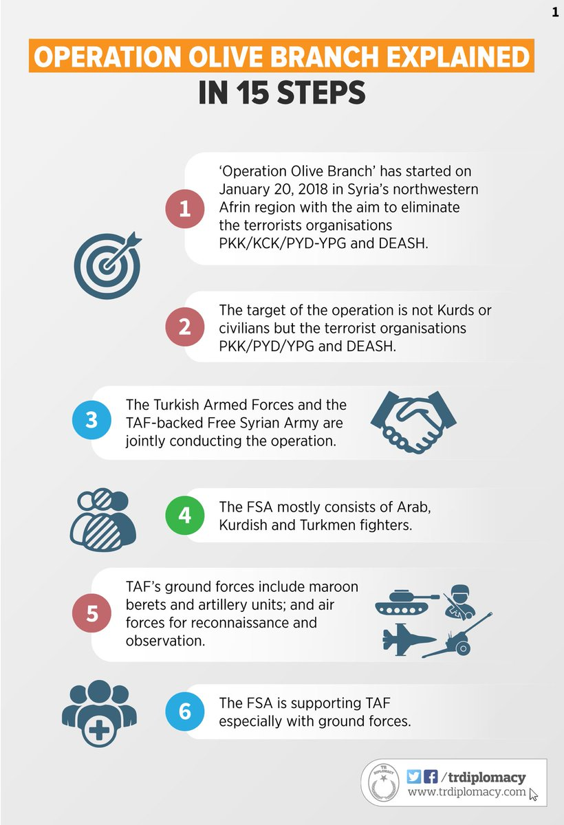 """Operation Olive Branch explained in 15 steps """